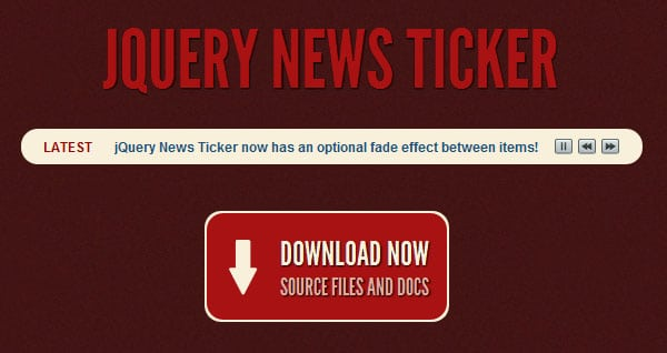 jquery-news-ticker