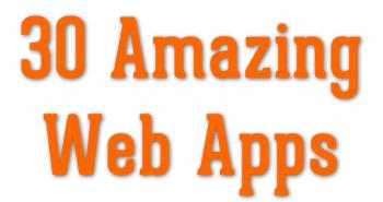 30 web apps